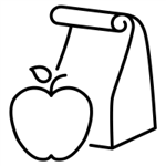 brown bag icon