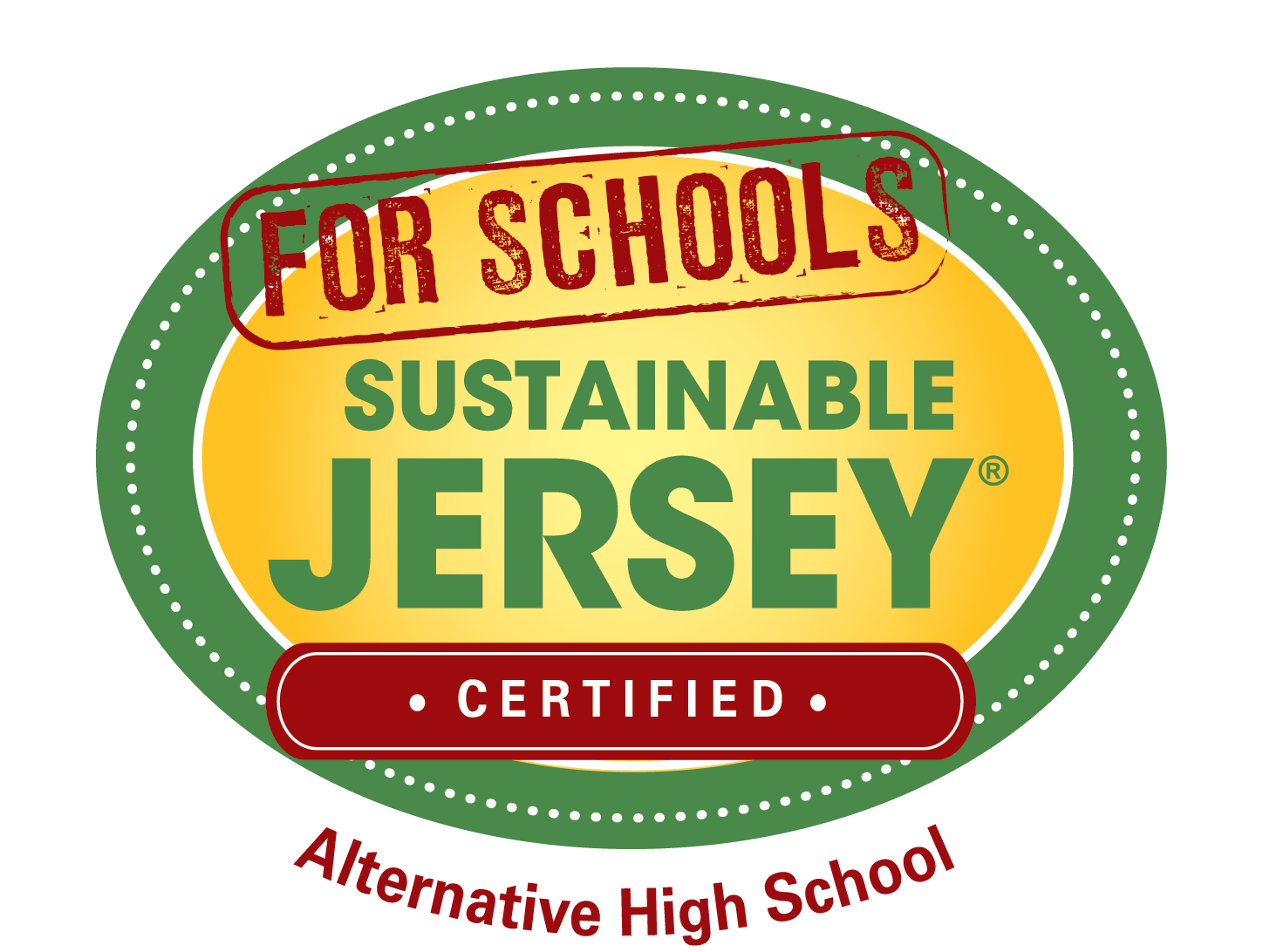 For Schools Sustainable Jersey Certified